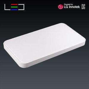 원라이팅 LED 거실등 심플 50W 국산 LG이노텍칩