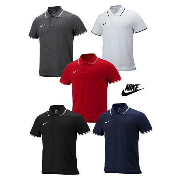 나이키 팀클럽19 폴로티셔츠 반팔티 운동복 유니폼