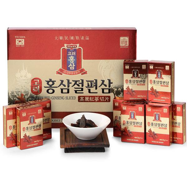 고려 홍삼 절편삼 20gX10갑(200g)/벌꿀/금산