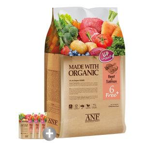 유기농 6free 플러스 소고기와연어 5.6kg