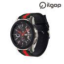 갤럭시 워치 시계줄 46mm 나토 밴드 스트랩 블랙