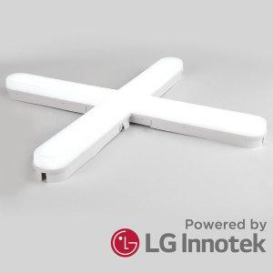 led 센서등 직부등 형광등 위너  십자등 60W_LG칩