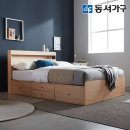 new 미휴 LED 4단서랍 SS침대+9존독립매트 DF639588