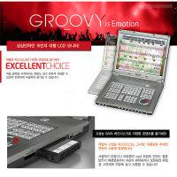 GROOVY 반주기일체형 15인치LCD모니터 녹음기능 색소폰