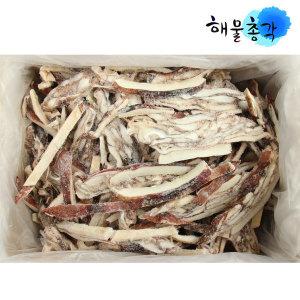 냉동 오징어채 1박스 볶음 무침 해물파전 해산물 4kg