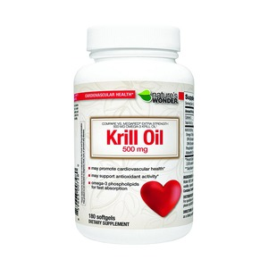 Natures Wonder 크릴오일 Krill Oil 500mg 180정