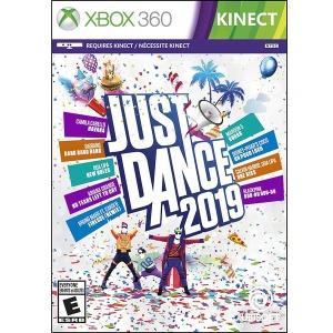 저스트댄스 2019 XBOX360 JUST DANCE 2019