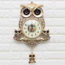 인테리어벽시계 쉘부엉이-골드/무소음시계 디자인소품