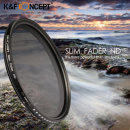 KF Concept Fader SLIM ND2-ND400 가변필터 (52mm)