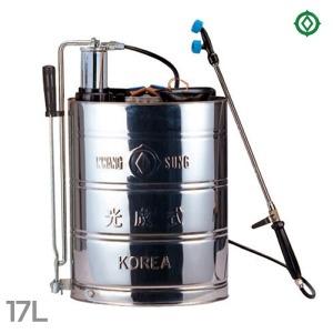스텐 분무기 17L/KS1 철재피스톤/농업용 농약 살포기