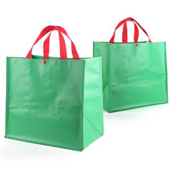 초록타포린 시장가방 장바구니 판촉 도매 인쇄2256010