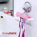 키빙락 칫솔걸이 국산 이중흡착 욕실 용품 정리