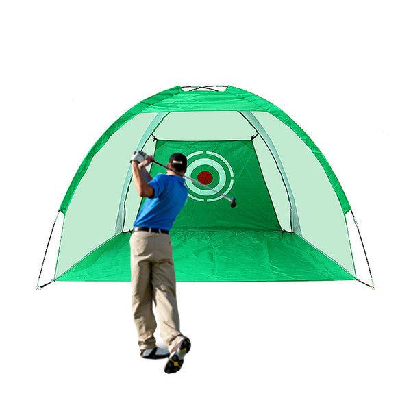 스윙연습 돔텐트형 골프네트 실내외 골프연습용 3미터