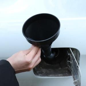 비상주유 엔진오일 냉각수 석유보충용 자바라깔대기