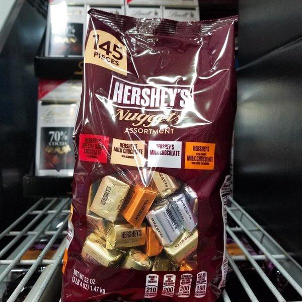 허쉬 너겟 어쏘트먼트 4가지맛 초콜렛145개입 1.47Kg