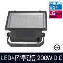 LED사각투광등 200W DC 투광기 벽부형 공장등