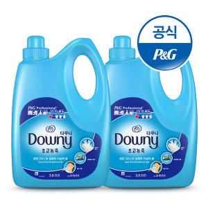 다우니 고농축섬유유연제 대용량 3.8L 레몬그라스 2개