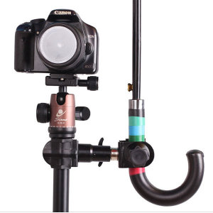 카메라 삼각대 우산거치대 촬영용 브라켓