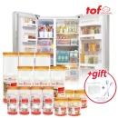 냉장고(냉동실)문짝정리수납용기 대박세트3호
