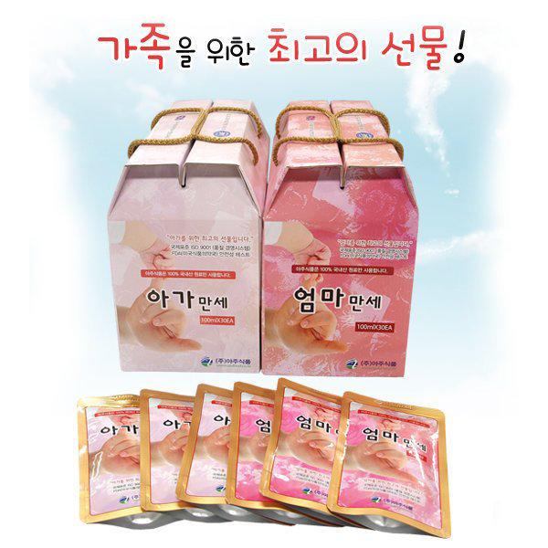 아주식품-아주세트60EA  모유촉진차/산후식품