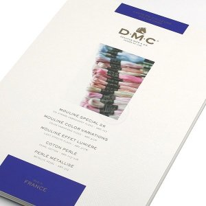 DMC 최신 자수실 샘플북
