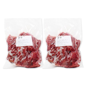 닭간 500gx2개(드라이아이스)-국내산 냉동 생닭간