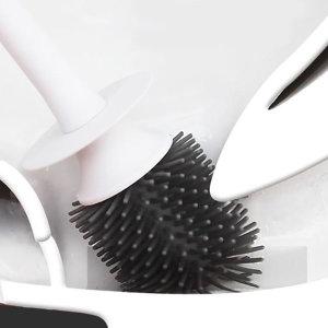 실리콘 화장실 위생 욕실 변기솔 청소솔