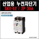 서울산전 산업용 누전차단기 SKE-52 2P-30A