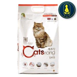캐츠랑 전연령 5kg x 3개 캣츠랑 고양이사료