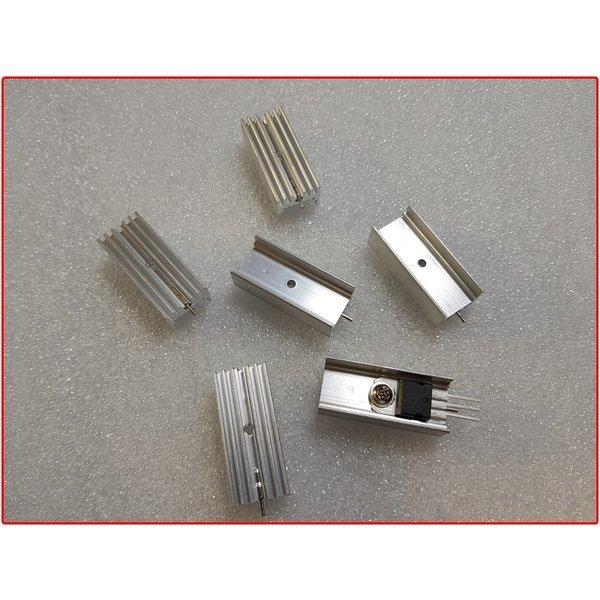 lm317/lm78xx/냉각방열판/롱사이즈/레귤레이터 방열판