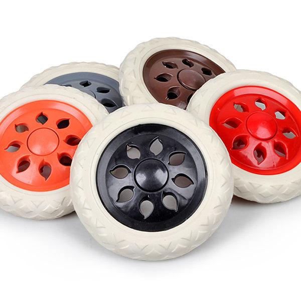 쇼핑카트 바퀴(낱개 색상랜덤)핸드카트바퀴 카트바퀴