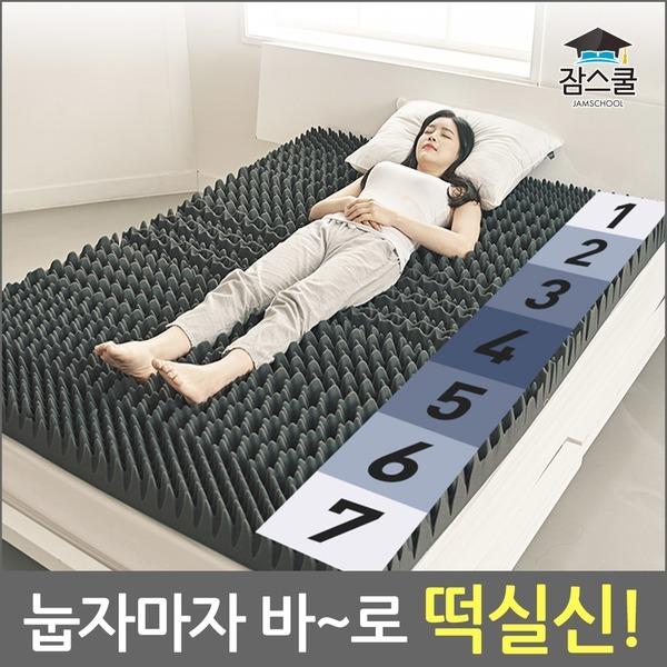 떡실신매트리스 침대 바닥 토퍼 메모리폼 접이식/마약