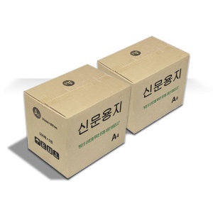 무료배송 신문용지 갱지 A4용지 2BOX(5000매)