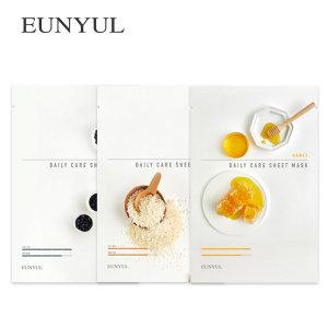 마스크팩/1일1팩 피부보습 검은콩+라이스+허니 30매