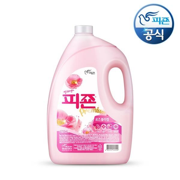 섬유유연제 피죤 4210ml 핑크 대용량