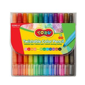 토루 샤프식 색연필 12색