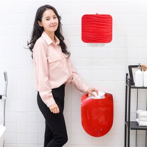인테리어에 효과적인 벽걸이 휴지통 쓰레기통