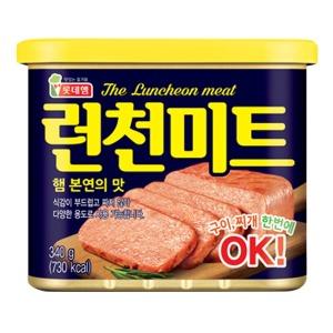 롯데 런천미트 340g x 10캔 / 로스팜 햄 통조림 신형