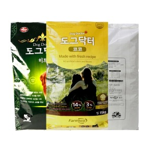도그닥터 코코 15kg 대형견 대용량 사료