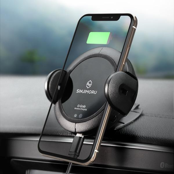오그랩 차량용 무선충전 자동 핸드폰/휴대폰 거치대