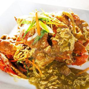 홈쿡 푸팟퐁커리 게살 카레 태국음식 3분요리