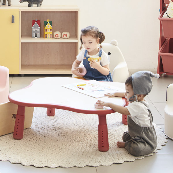일룸  클로버 그로잉책상/ 어린이 유아 책상 높이조절