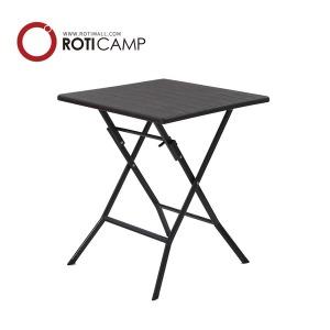 접이식 브로몰딩 테이블 우드 600 캠핑 카페 야외 티
