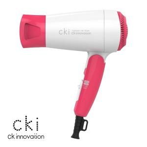 CKI-D210 레드 드라이기 헤어드라이기 휴대용 접이식