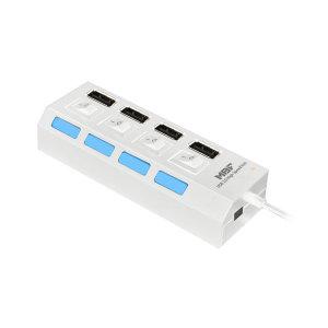 MBF-H04WH / USB2.0 4포트 무전원 허브 아답터 미포함