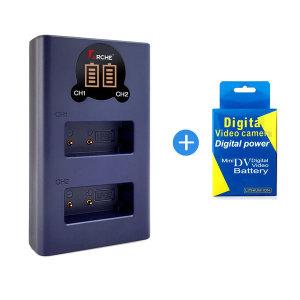 니콘 EN-EL15 LCD 듀얼충전기+배터리 D850/D7000