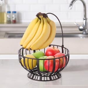 인테리어 바나나걸이 겸용 과일바구니