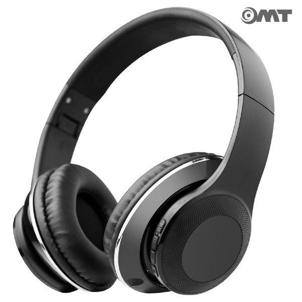 OMT 접이식 무선 블루투스헤드폰 V4.2 OMT-BT120 블랙