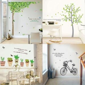 포인트스티커 시트지 벽지 이케아 인테리어 그래픽