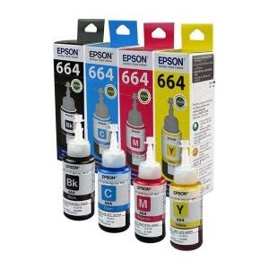 EPSON 엡손 정품무한잉크 T664시리즈 검정 T664100